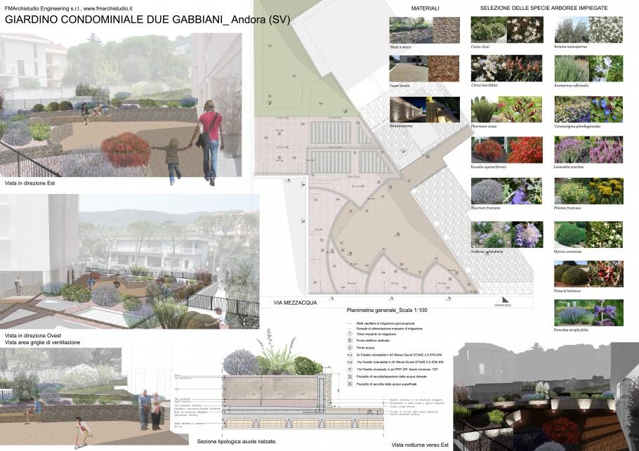 Fmarchistudio studio astrua torino architettura e ingegneria - Progetto giardino mediterraneo ...